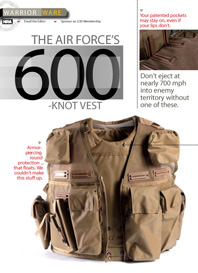 American Warrior Air Ace Vest Ace Advantage Armor