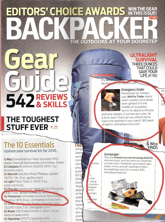 Backpacker Gear Guide